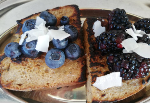 french toast served